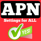 APN Settings for ALL icon