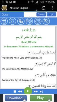 Al-Quran Audio Reading apk screenshot