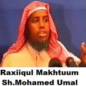 Raxiiqul Makhtuum - Somali poster