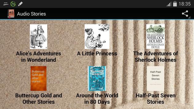 Audible Stories and Books apk screenshot