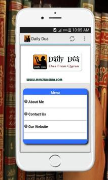 Daily Dua & Malayalam Meaning poster