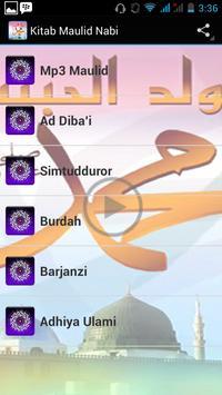 Kitab Maulid Nabi poster