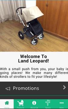 Land Leopard poster