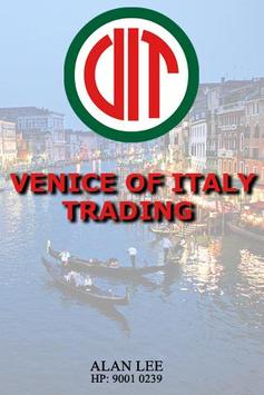 Venice of Italy Trading poster