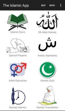 The Islamic App poster