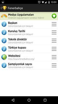 Futbol Kulüpleri apk screenshot