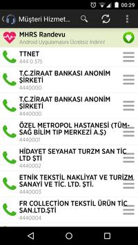 Customer Service Numbes in TR poster