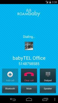 ROAMbaby by babyTEL apk screenshot