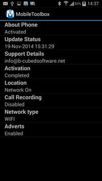 MobileIntelligence apk screenshot