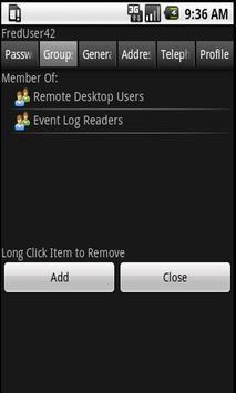 Free ActiveDir Manager apk screenshot