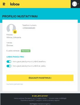 MANO LABAS apk screenshot