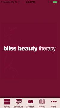 Bliss Beauty Therapy poster