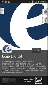 Écija Digital poster