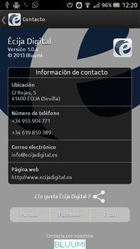 Écija Digital apk screenshot