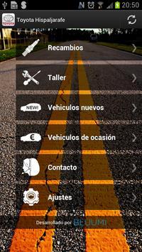 Toyota Hispaljarafe apk screenshot