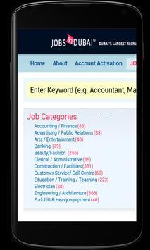 Dubai Jobs- Jobs in Dubai apk screenshot