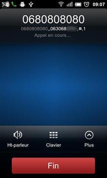 PrefixCall apk screenshot