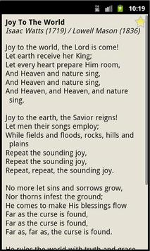 Christmas Hymnal apk screenshot