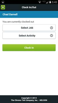 Chronotek Mobile App apk screenshot