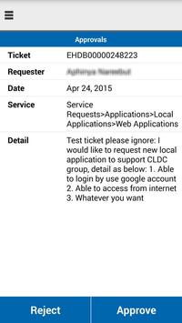 CLS eHelpdesk apk screenshot