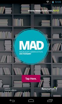 MAD by ResourceiT poster