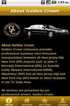 Golden Crown Limousine poster