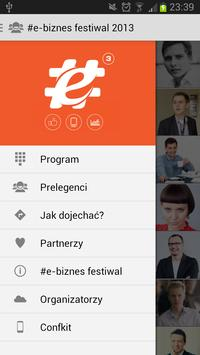#e-biznes festiwal 2013 poster
