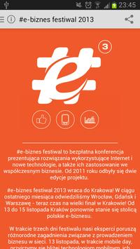 #e-biznes festiwal 2013 apk screenshot