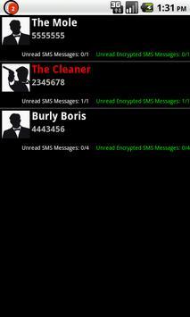 Unbreakable SMS apk screenshot