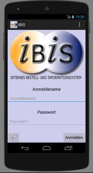 IBIS-Int.Bestell-&Info.-System poster