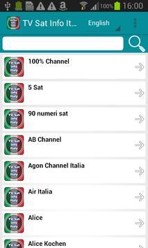 TV Sat Info Italy poster