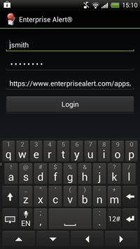 Enterprise Alert poster