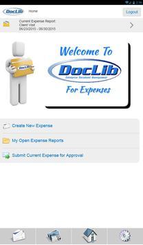 DocLib Expense apk screenshot