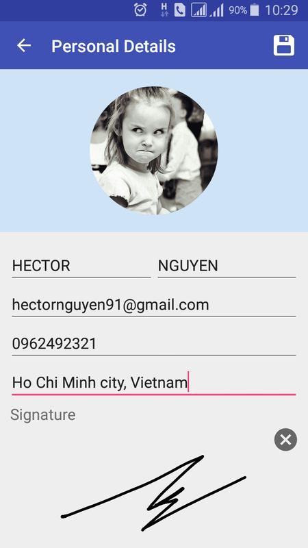 Resume Creator resume example 4 Resume Creator Poster Resume Creator Apk Screenshot