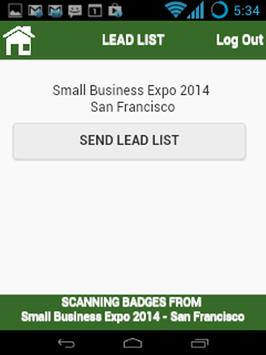 SmallBiz Lead Capture apk screenshot