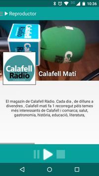 Calafell Ràdio poster