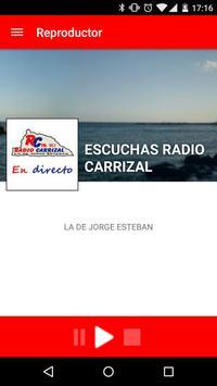 Radio Carrizal poster