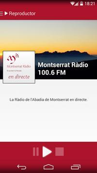 Montserrat Ràdio poster