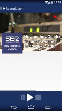 Radio Guadix Cadena SER poster