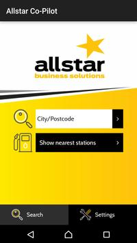 Allstar Co-Pilot poster