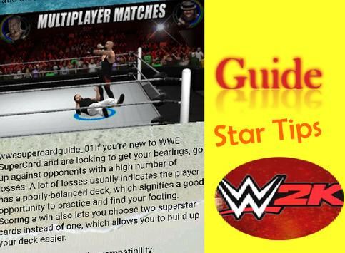 2K Guide for WWE Hacks apk screenshot