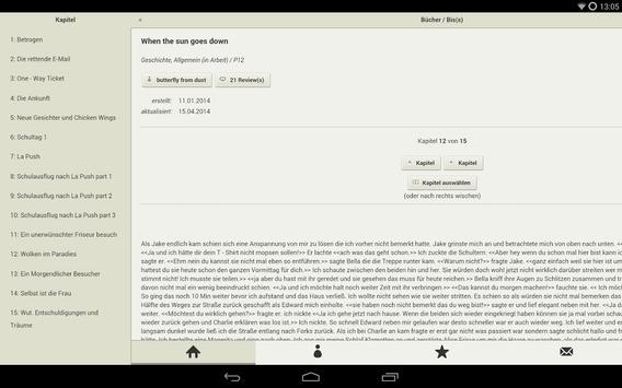 FanFiktion.de apk screenshot