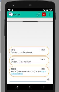 mChat apk screenshot