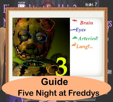 Guide And Five Night at Freddy poster
