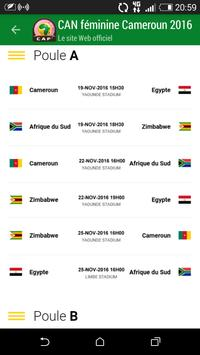 AWCON Cameroon 2016 poster