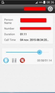 Call Recorder HD Free apk screenshot