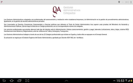 Gestores Administrativos apk screenshot