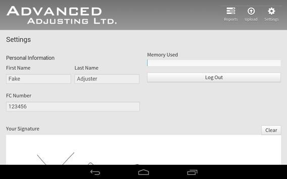 Advanced Adjusting apk screenshot