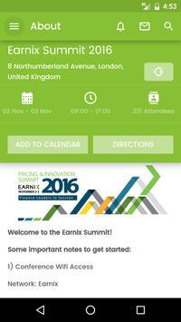 Earnix Summit 2016 apk screenshot