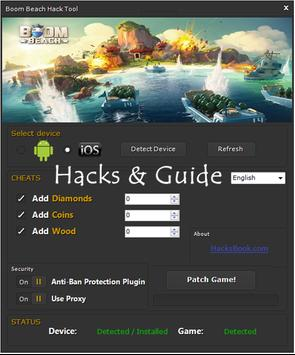 HI Hacks for Boom Beach Pro apk screenshot